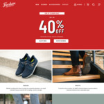 Up to 40% off Selected Shoe Styles, Additional 10% off Coupon Code (Free Shipping over $100 Spend) @ Florsheim
