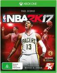 [XB1] NBA 2K17 $1 C&C /+ Delivery | NBA 2K15 $1 C&C Only @ JB Hi-Fi