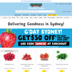 [NSW] $50 off Your First Order of $200 + Free Delivery @ Harris Farm
