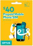 Optus $40 Mobile SIM Starter Kit - $15 Delivered @ Optus (Online Only)