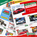 50% off Ravensburger Puzzles, 20% off Model Kits & 20% off All Online Exclusives + $9.50 Delivery ($0 with $99 Order) @ Hobbyco