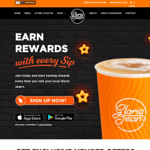 Free Drink When You Sign up to New Gloria Jeans Rewards App + Free Birthday Drink @ Gloria Jean's Coffees