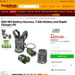 EGO Deals - 56V Battery Harness, 7.5ah Battery and Rapid Charger Kit - $379 Delivered (Was $649) @ TradeTools