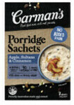 ½ Price Carman's Porridge Sachets with Different Varieties 320g $3, I&J Raw Prawns Peeled and Frozen 500g $9.50 @ Coles