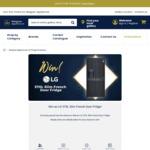 Win an LG 570L Slim French Door Fridge Worth $2,498 from Designer Appliances
