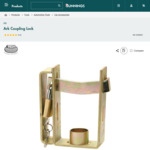 Ark Trailer Coupling Lock $10 + Delivery ($0 C&C/ in-Store) @ Bunnings