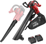 Ozito PXC Kit 3-in-1 Blower Vacuum-Mulcher Kit w/ 2 x 4Ah Batteries and 2 x Fast Chargers $100 @ Bunnings