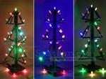 RGB Music Xmas Tree DIY Kit US$11 (~A$14.53), Pentagram Water Light Flashing LED Kit US$5.70 & More + US$5 Postage @ ICStation