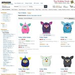 Furby - $54 + Shipping ($10) Amazon.com