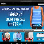 Aus Day Sale @ Mossimo! Sale Room $26 or Less, Starting 26th Jan! ONLINE ONLY