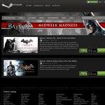 Batman Arkham Asylym & City (GOTY Editions) 75% off on Steam (USD $4.99 + USD $7.50 Respectively)