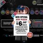 Domino's $6 Chef's Best / Value / Traditional Pizza, $8.95 Premium Pizza Pickup