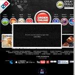 Domino's Pizza till 23 November 2013 = 3 Pizzas + 2 Garlic Bread + 2 Coke @ $33 DELIVERED