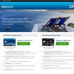 80,000 Bonus Qantas Points on Citibank Signature Card