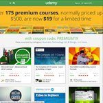 $19 for Any PREMIUM UDEMY Courses (Normally $99 to $500)