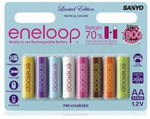 ENELOOP AA Rechargeable Nimh Battery Tropical 8pk $19.96 + Free Shipping
