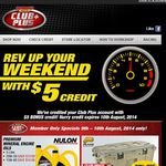 SuperCheap Auto Free $5 Credit for Club Plus Members (Again)