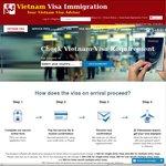 15% OFF Vietnam Visa on Arrival (Just US $24.65) (3 Months Validity) @Vietnam-Immigration