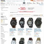 50% off Timex Watches on Amazon (e.g. Timex Weekender $25 AUD Shipped)