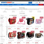 Character Messenger Bags from $7 + $9.98 Postage from Sports Direct