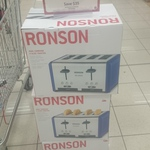Ronson Dual Carriage 4 Slice Toaster Target Was $40 Now $5 Point Cook Vic