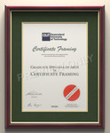 10% Off High Quality Frames - Handmade in Australia for your University Degree - Free Delivery @ Certificate Framing