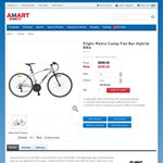 Flight Metro Comp Flat Bar Hybrid Bike with Sora Groupset $349 + Shipping @ Amart Sports