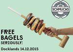 Free Bagel, Dec 14 7AM-12PM @ Schmucks Bagels Docklands [Melbourne]