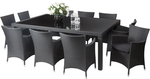 Manila 10 Seater Dining Set $899 (down from $1,399) @ Segals [WA]