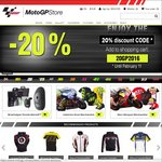 20% off Everything at MotoGP Official Store