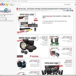 Car Audio Sale: Pioneer, Rockford, Clarion Sony Kenwood JVC + Accessories from $9.99 Free Ship @ Super Cheap Everything eBay