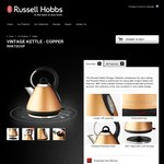 Russell Hobbs RHK72 Vintage Kettle $49 (Was $99) @ BIG W (in Store Only)