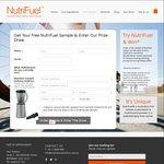 Free NutriFuel Multivitamin Powder Sample