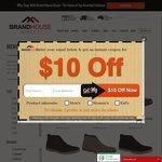 Mens & Womens Shoe Sale $29.95 + Post - Brands Inc: Selected Julius Marlow, Hush Puppies, Caterpillar, Guess & More @ BHD