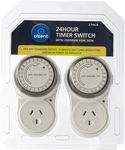 Olsent 24hr Timer Power Outlet Switch 2 Pack $1 @ Masters