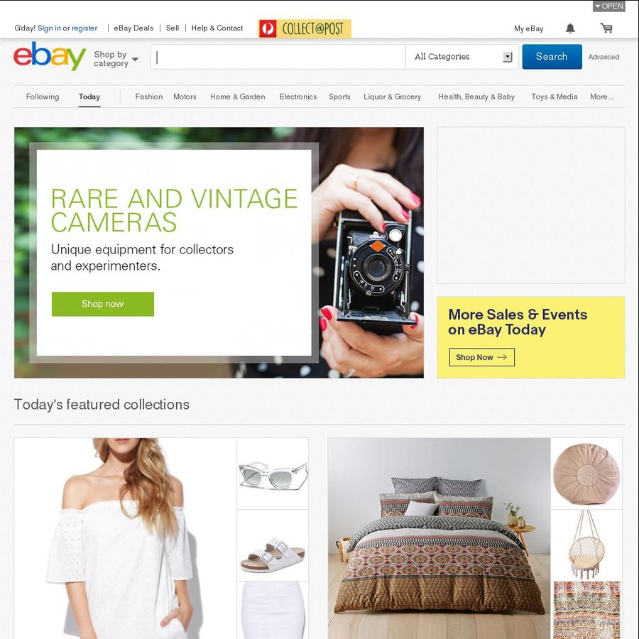 10% off Aussie Sellers in eBay in Selected Categories (Minimum Spend ...