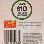$10 off Next Shop with $100+ Spend at Woolworths, in-Store & Online: 12/12 to 18/12 (Woolworths Everyday Rewards) [Excludes TAS]