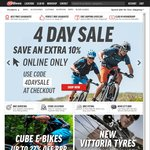 10% off Online Purchases @ 99 Bikes