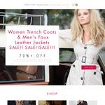 Women & Men Coats- Any 2 Coats for $38 + $10 Shipping @ Trench Coat Originals