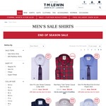 5 Shirts for $130 Delivered @ T.M. Lewin