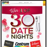 Win 1 of 30 $50 Event Cinemas Gift Card and a $150 Good Food Guide Gift Card  Purchase Centrum (Participating Stores)