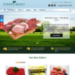 Buy 1Kg Get 1Kg Free Grass Fed Beef and Lamb, Free Range Pork and Chicken @ Sydney Meats Top Ryde Shopping Centre [NSW]