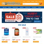 10% off Sitewide at GOOD PRICE PHARMACY Online (Free Shipping over $99)