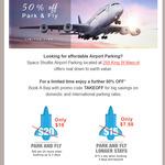 50% off Sydney Airport Parking
