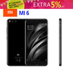 Xiaomi Mi 6 Snapdragon 835/6GB Ram Global Version $483.96 Delivered Melbourne Stock @ Gearbite eBay