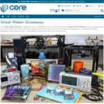 Win 1 of 25+ Prizes from Core Electronics (Includes Lulzbot 3D Printers, Rigol Test Equipment, Pimoroni Gear + More)