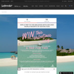 Win an Escape to the Maldives for 2 from Surf Dive 'n Ski