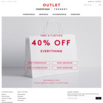 Country Road Outlet - 40% off Everything Online and in-Store