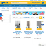 Easter Discount + Redemption: $700 Off on $3299 Fisher & Paykel Fridge French Door 614L and Many More from Betta Home Living