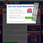 Free Shipping on Orders over $50 (Was $99) @ Chemist Warehouse